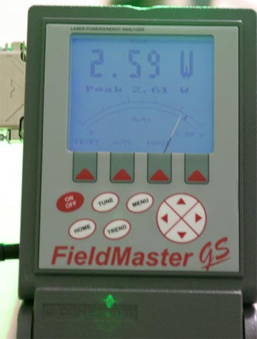 FieldMaster GS tuning mode for 5W system